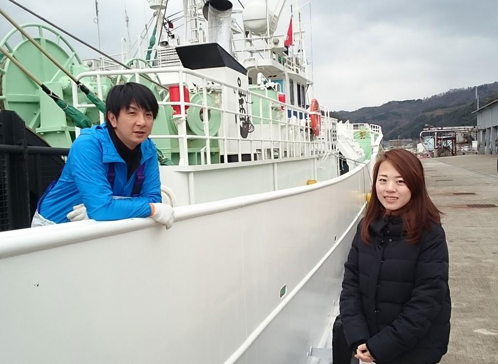 Vol.5 西善丸 船員 落合啓太さん・志穂さん夫妻